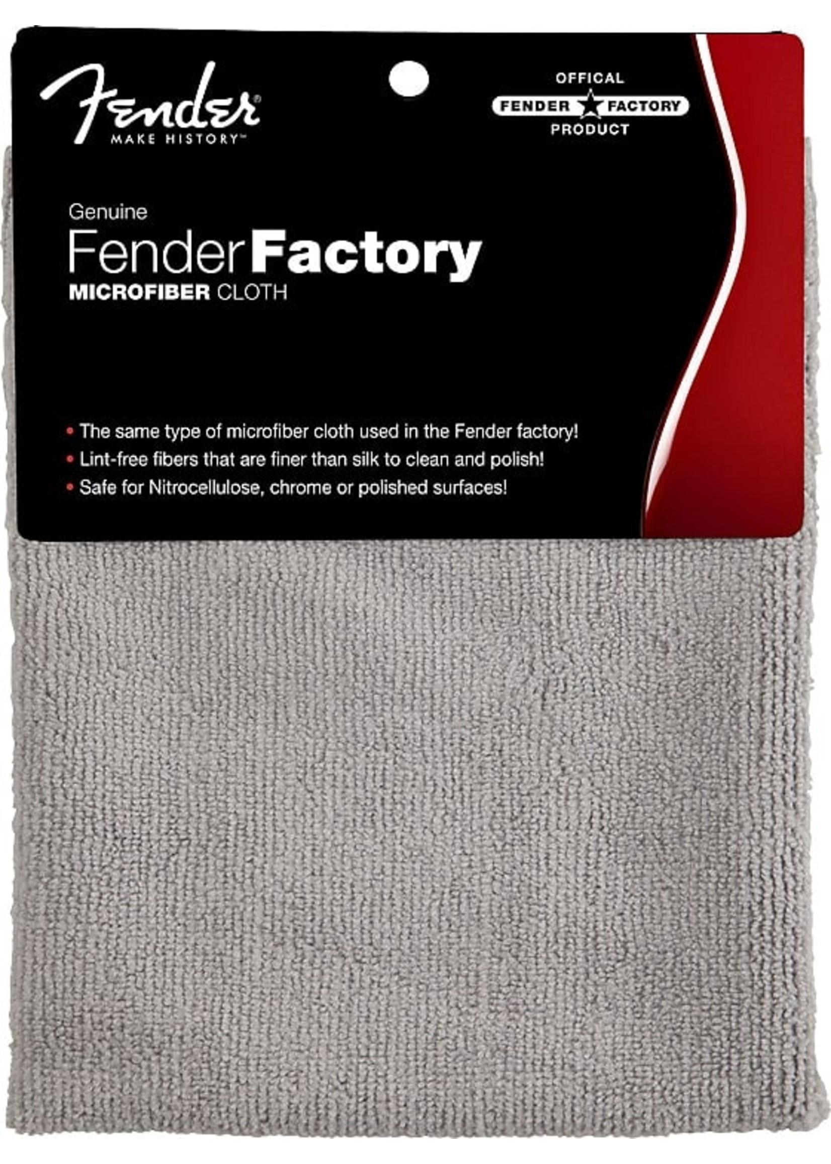 Fender Fender® Factory Microfiber Cloth, Gray