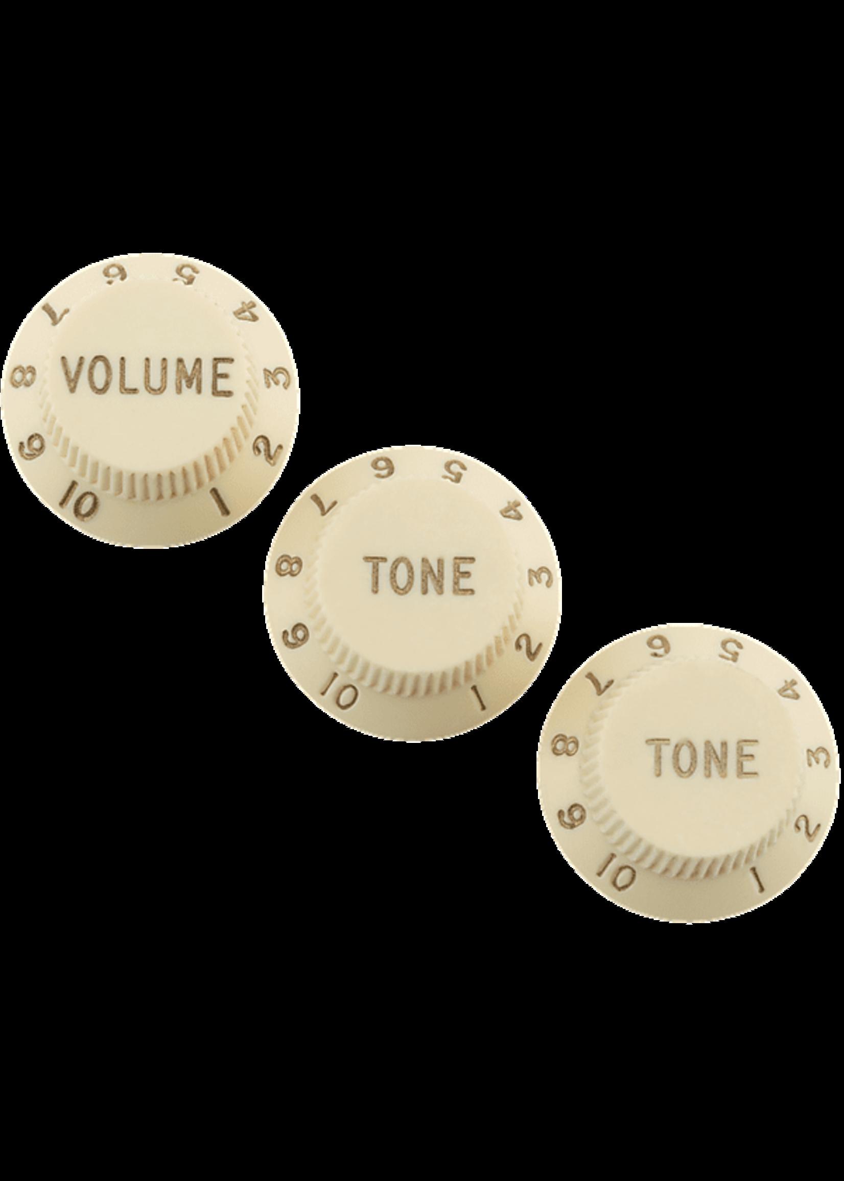 Fender Fender Road Worn® Strat® Knobs Aged White