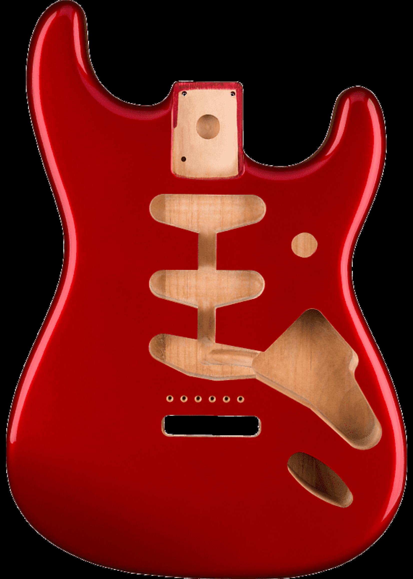 Fender Fender Classic Series 60's Stratocaster® SSS Alder Body Vintage Bridge Mount, Candy Apple Red