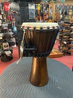 """Zildjian Tycoon TAJ-10 Rope Tuned African Djembe 10"""" Hand Drum"""