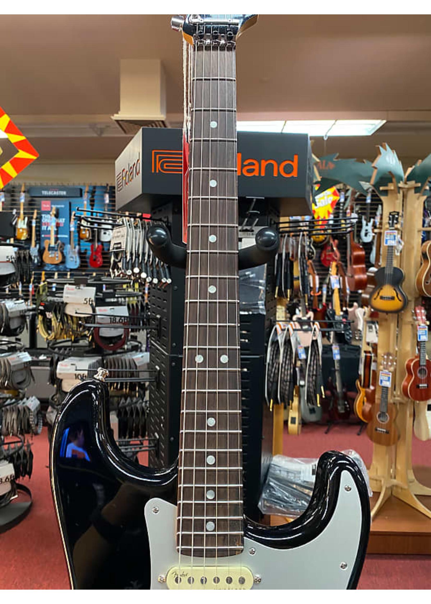 Fender Fender Ultra Luxe Stratocaster® Floyd Rose® HSS, Rosewood Fingerboard, Mystic Black