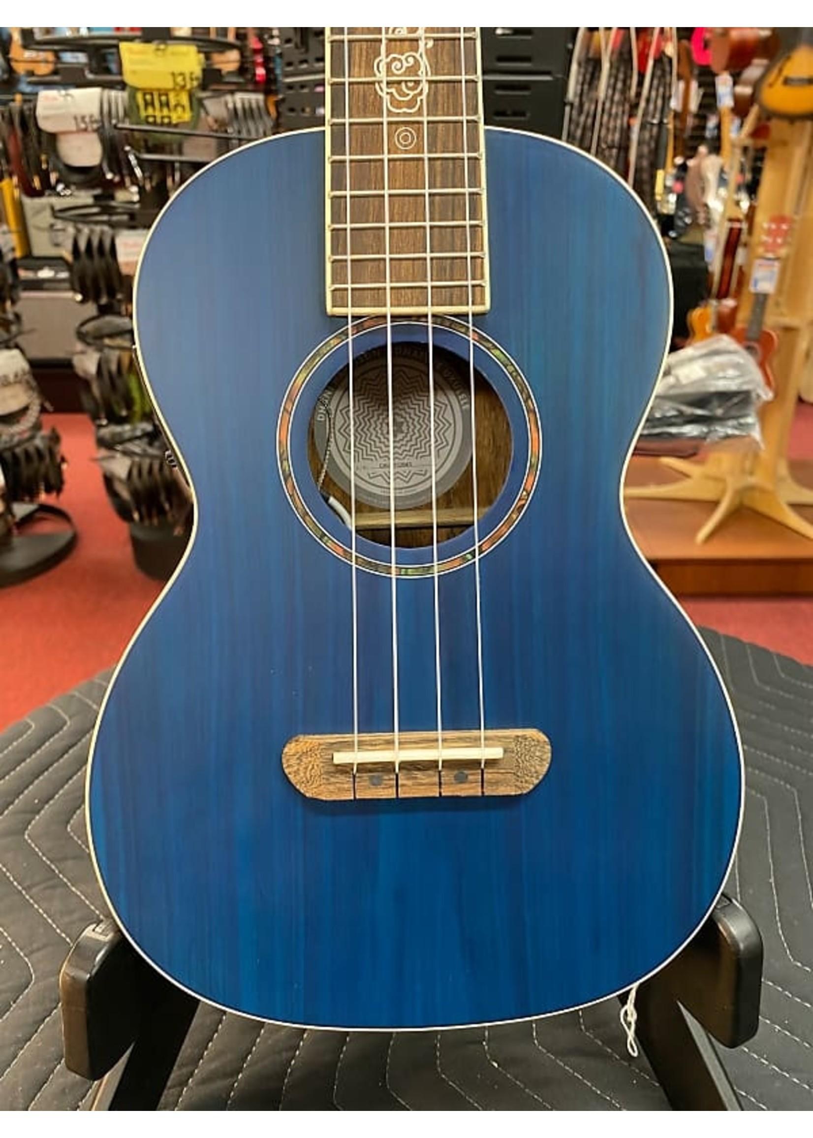 Fender Fender Dhani Harrison Uke, Walnut Fingerboard, Sapphire Blue