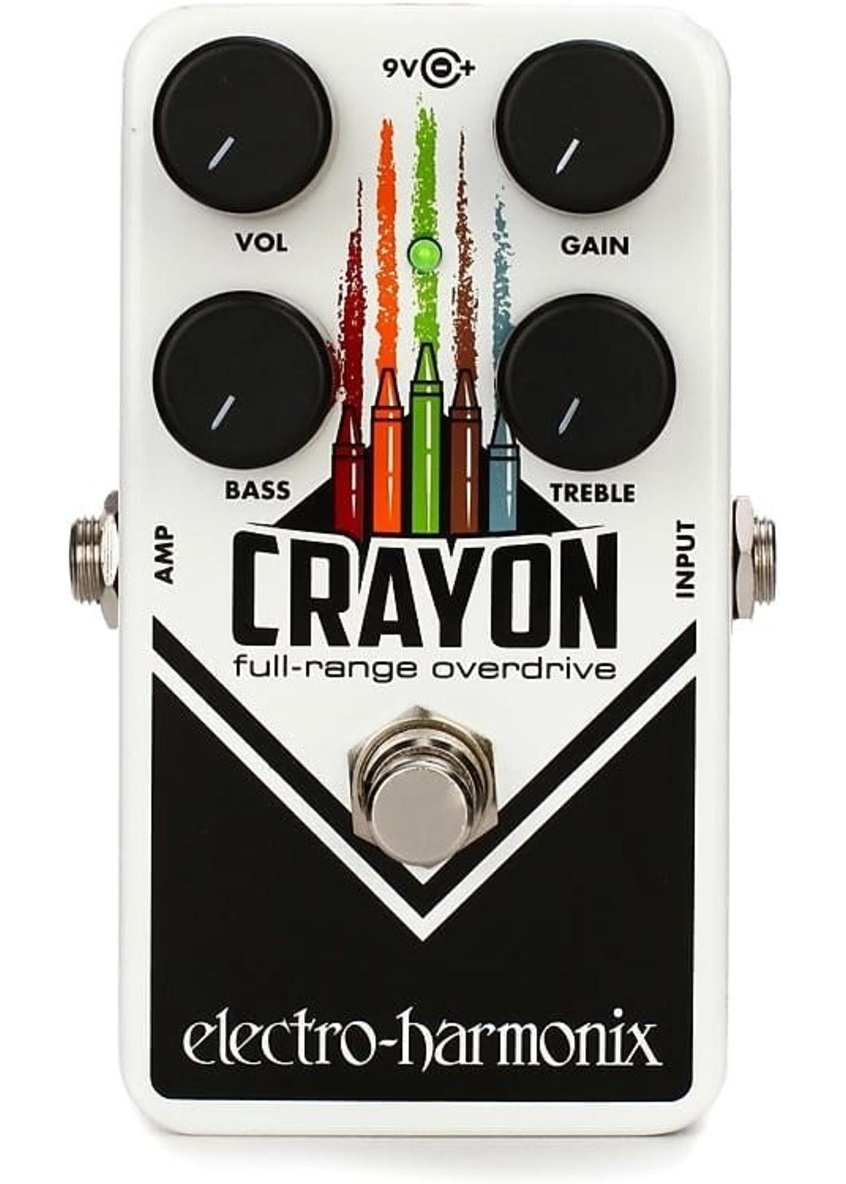 Electro-Harmonix Electro-Harmonix Crayon 69 Full-range Overdrive Pedal