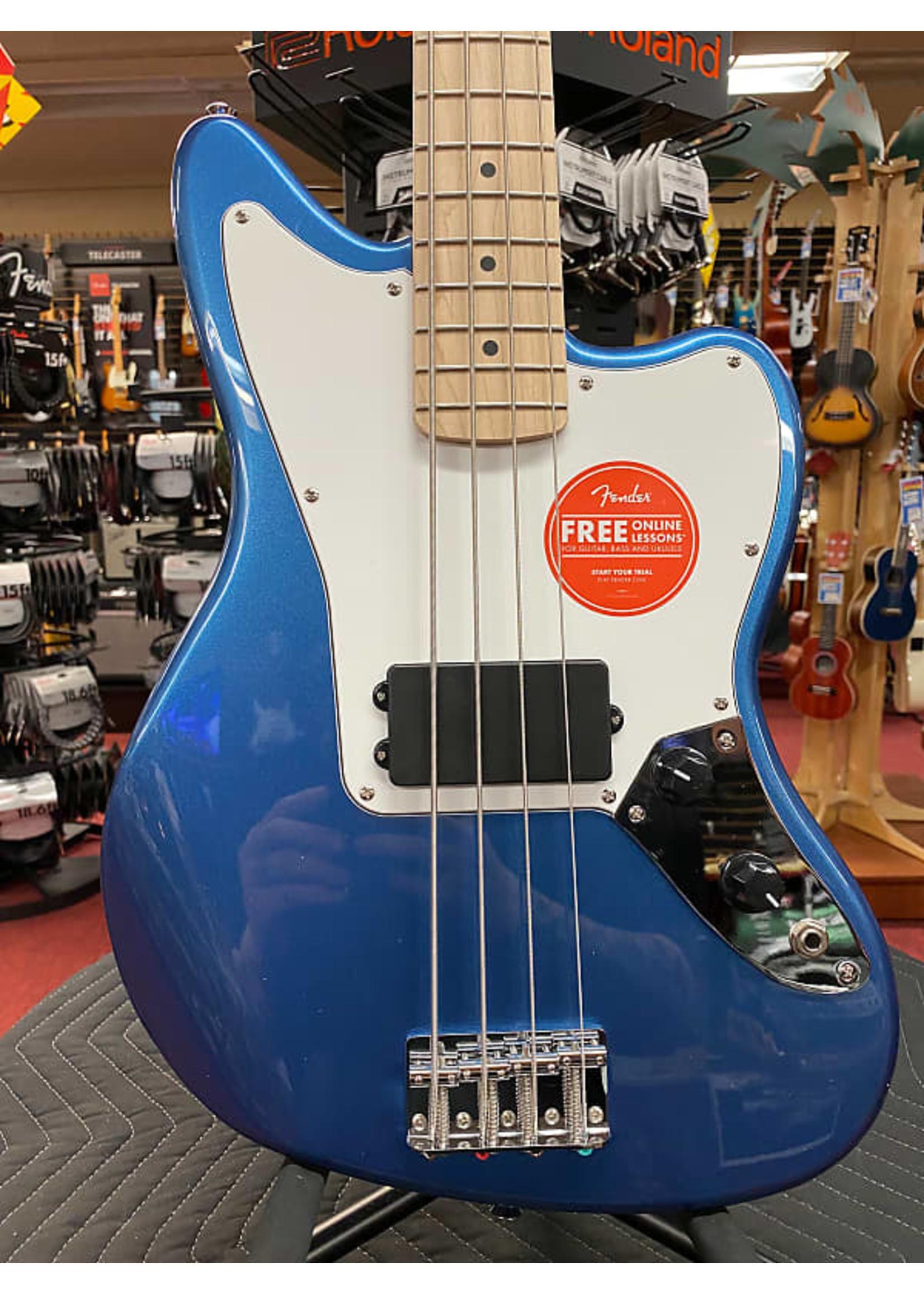 Squier Squier Affinity Series™ Jaguar® Bass H, Maple Fingerboard, White Pickguard, Lake Placid Blue