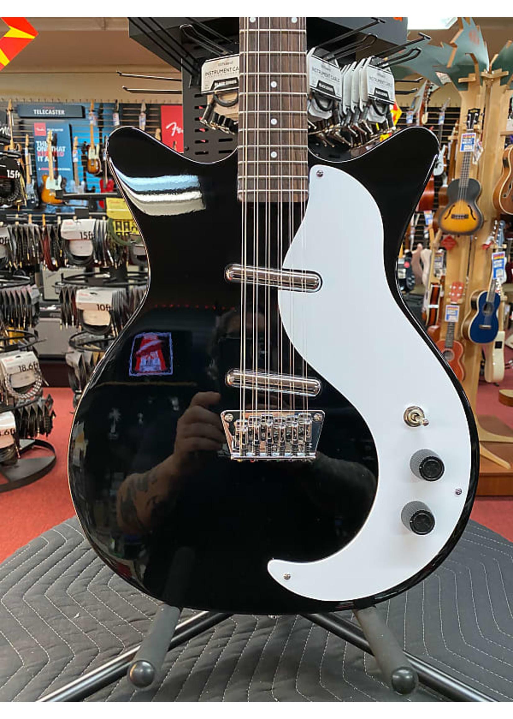 Danelectro Danelectro Vintage 12 String Electric Guitar - Black