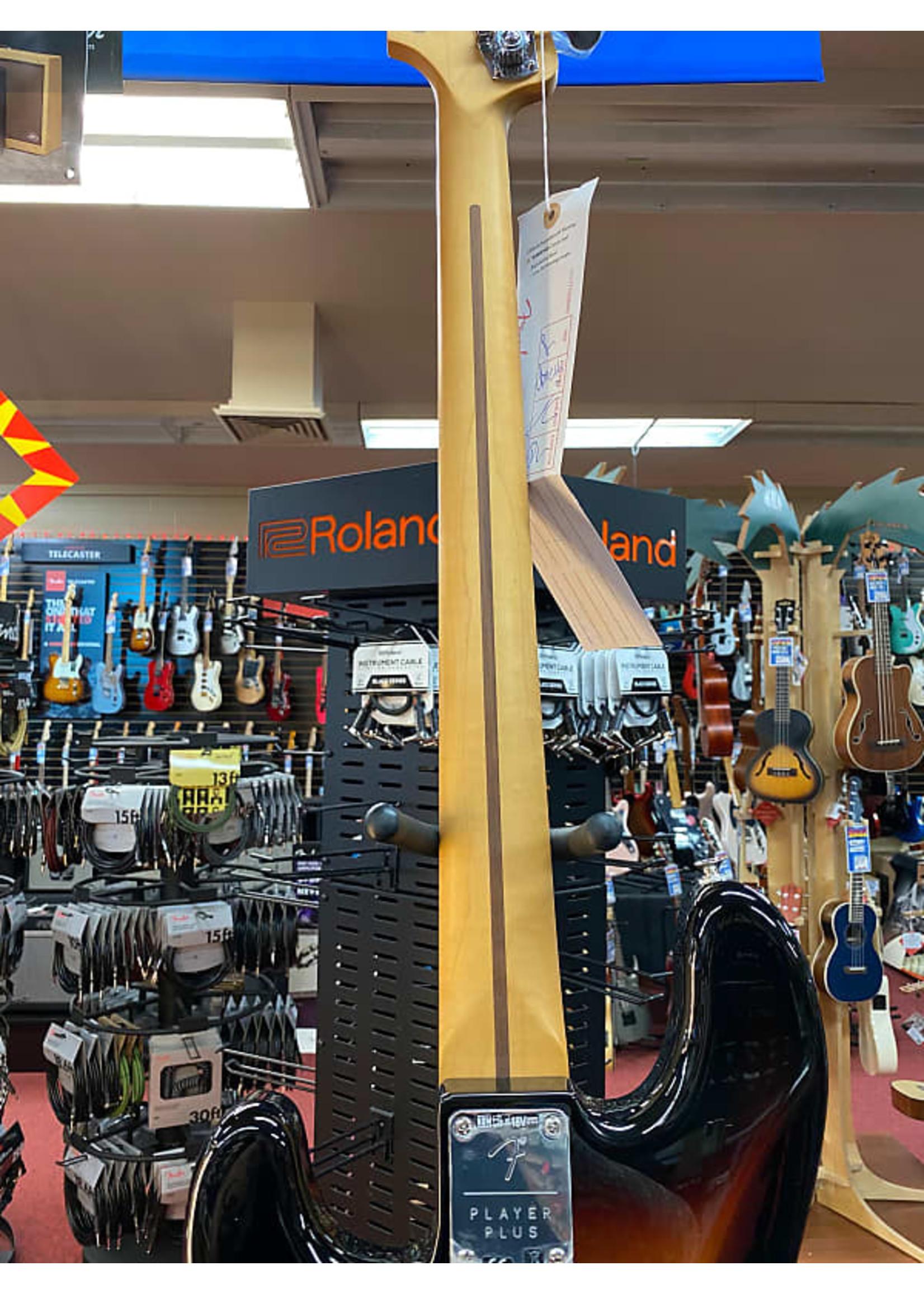 Fender Fender Player Plus Precision Bass®, Pau Ferro Fingerboard, 3-Color Sunburst