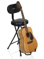 GATOR Gator Frameworks GFW-GTR-SEAT Combination Guitar Seat / Single Guitar Stand