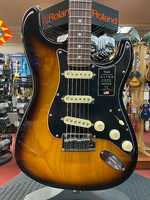 Fender Fender American Ultra Luxe Stratocaster®, Rosewood Fingerboard, 2-Color Sunburst