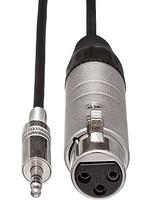 HOSA Hosa MIT-156 Impedance Transformer - XLR Female to 3.5 mm TRS Male - 18 inch