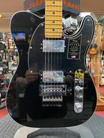 Fender Fender American Ultra Luxe Telecaster® Floyd Rose® HH, Maple Fingerboard, Mystic Black