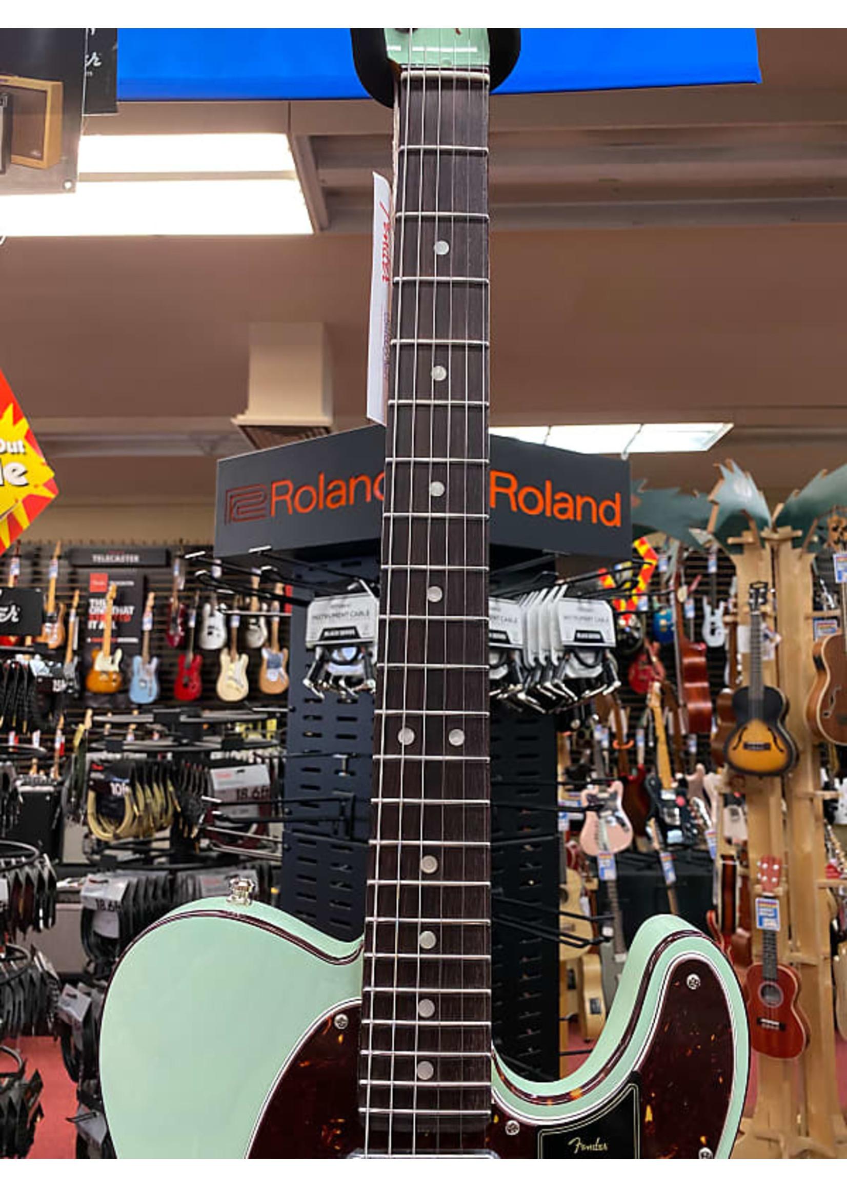 Fender Fender Ultra Luxe Telecaster®, Rosewood Fingerboard, Transparent Surf Green