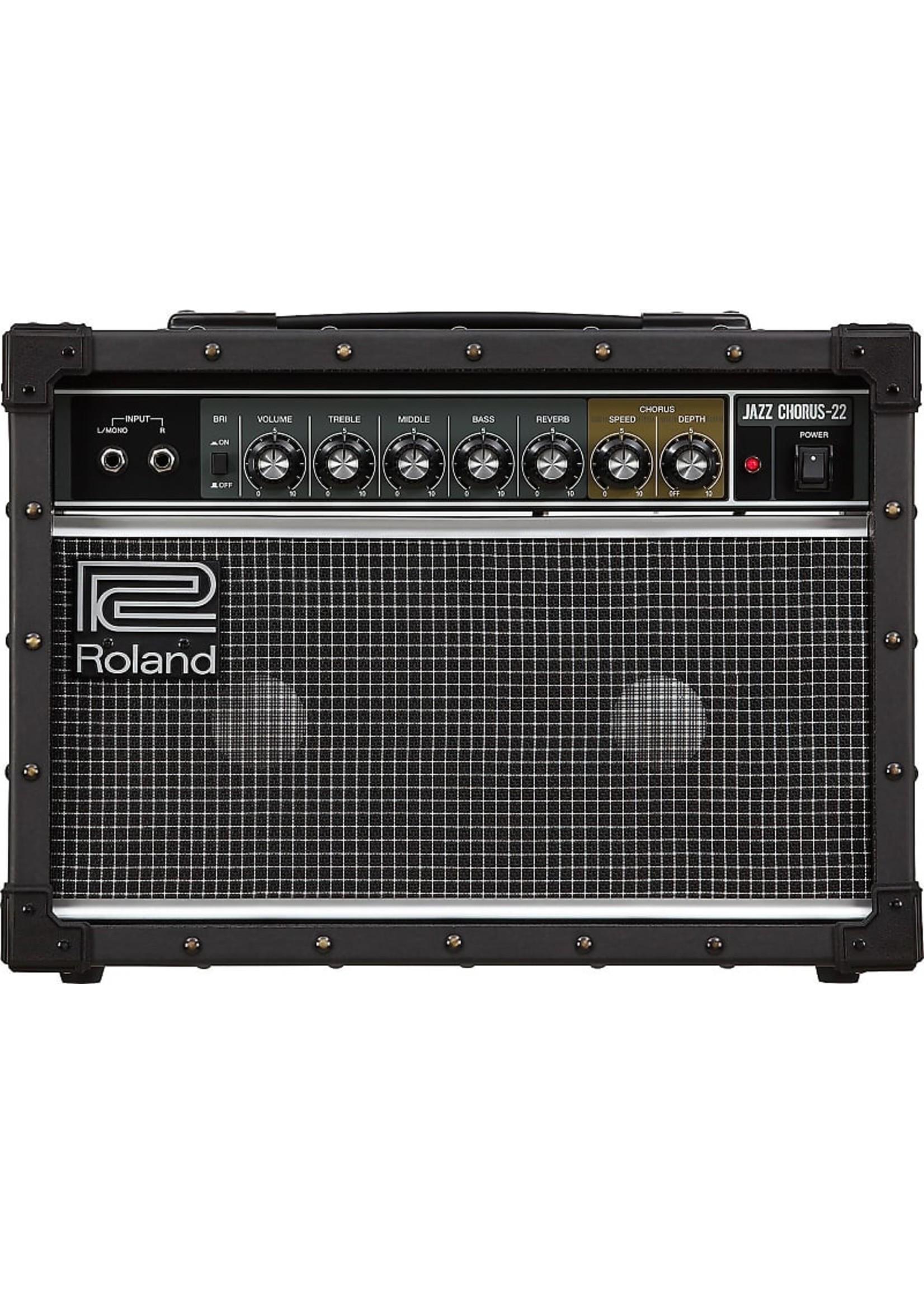 "Roland Roland JC-22 Jazz Chorus 2-Channel 30-Watt 2x6.5"" Guitar Combo"