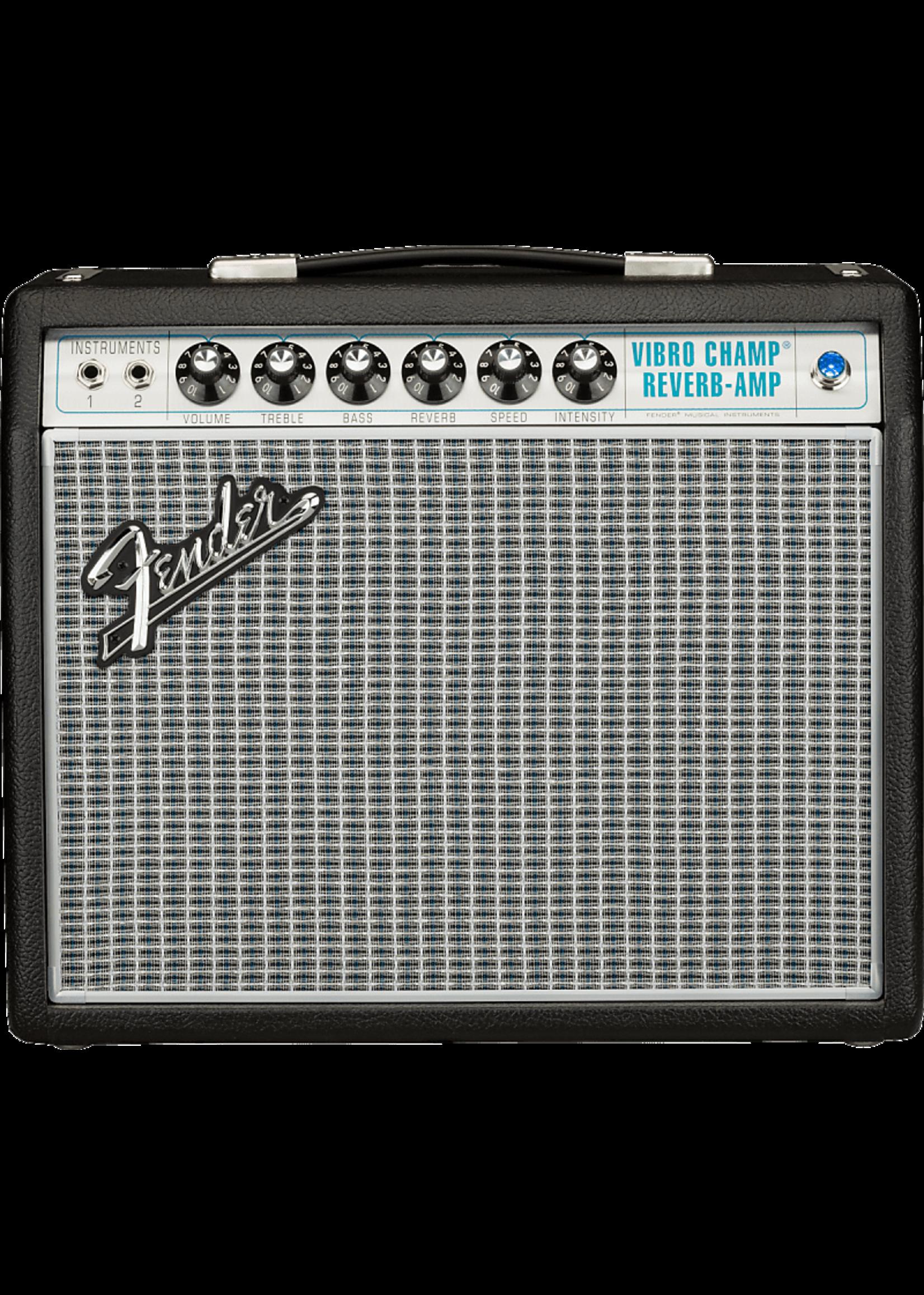 Fender Fender '68 Custom Vibro Champ® Reverb, 120V