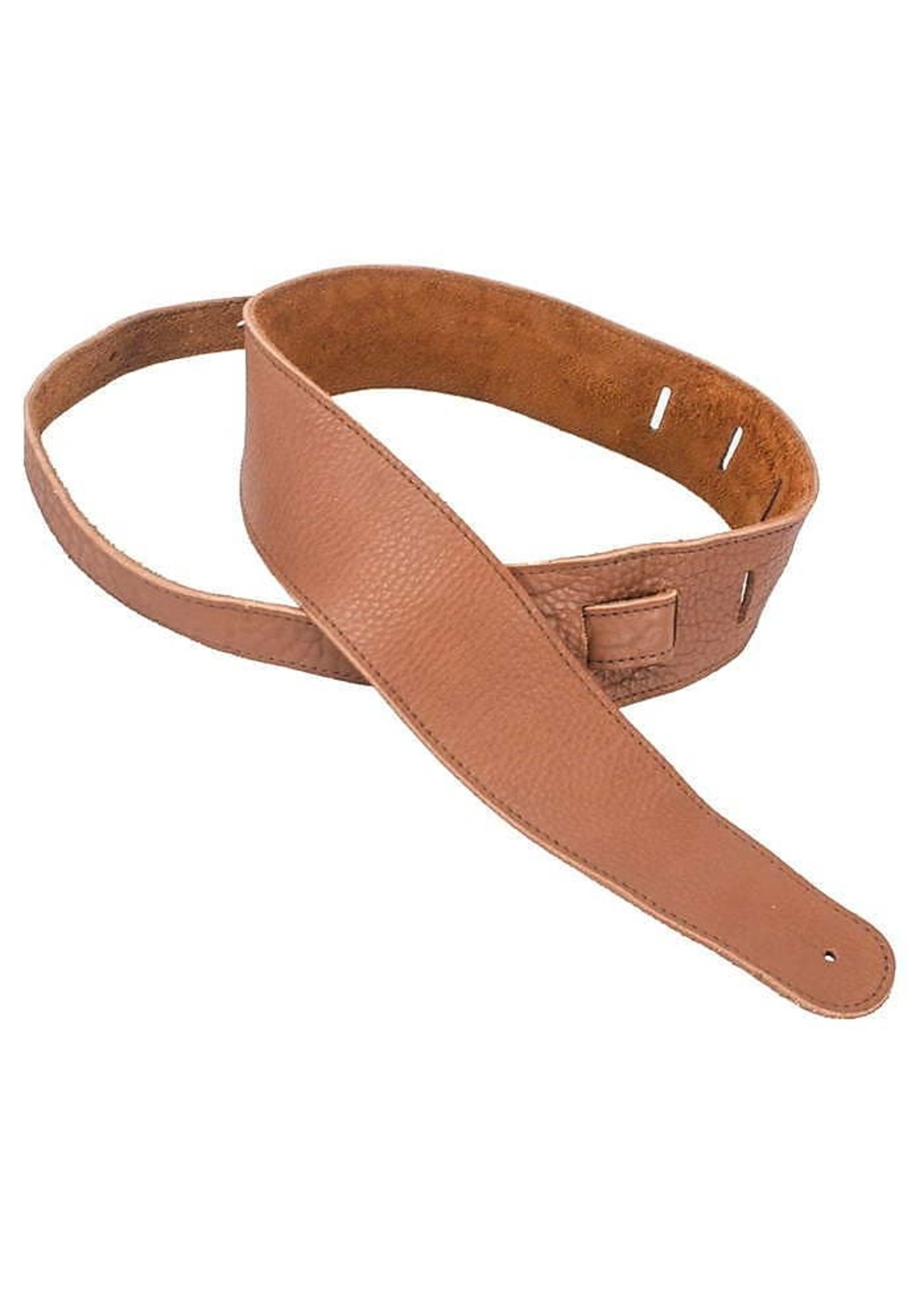 "Henry Heller Henry Heller 2.5"" American Buffalo Leather Strap in Brown"