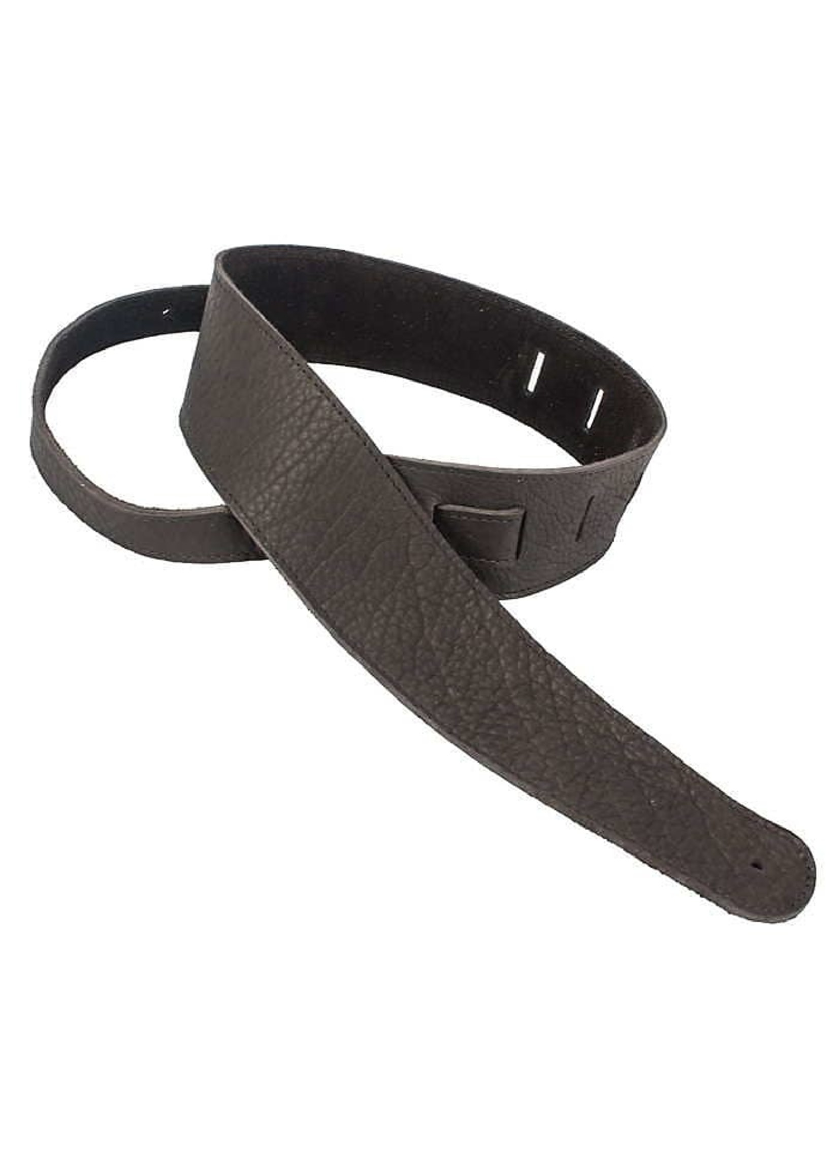"""Henry Heller Henry Heller 2.5"""" American Buffalo Leather Strap in Chocolate"""