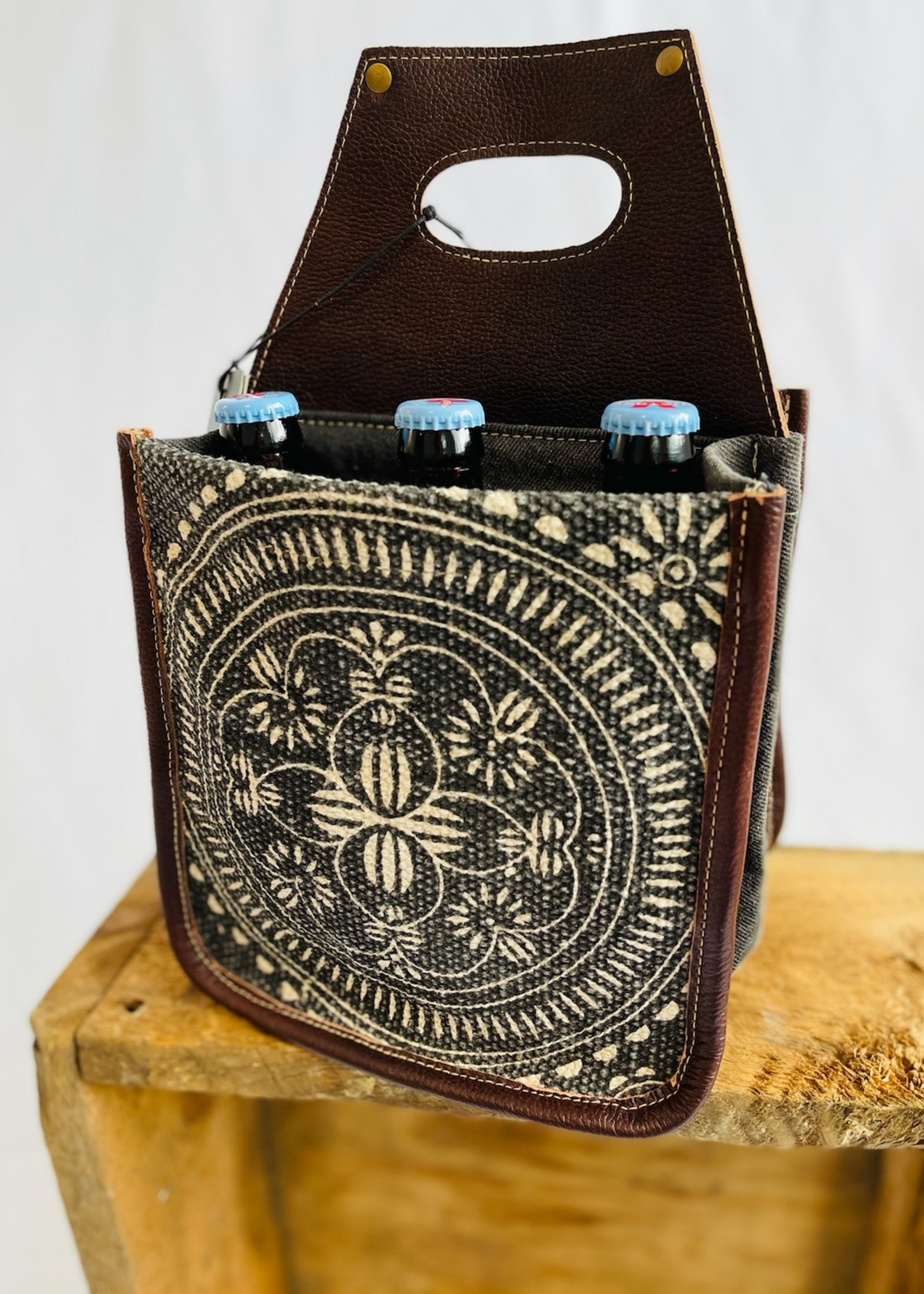Trippy Tapestry 6-Pack Caddy
