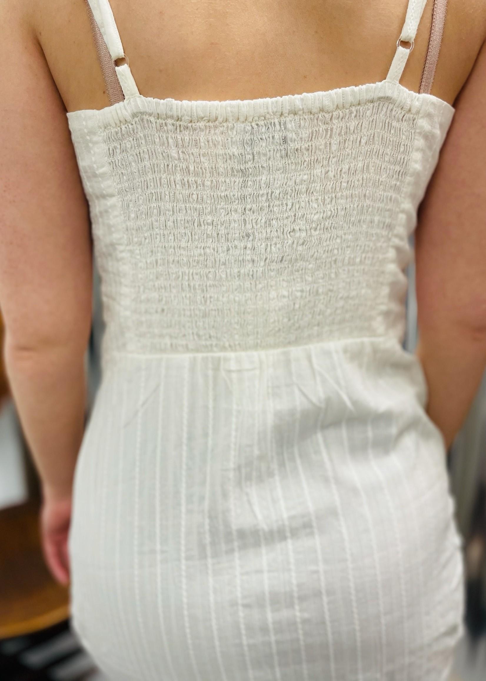 Chic Net Detail Dress
