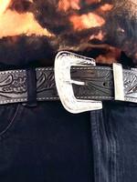 Runner Up Leather Belt