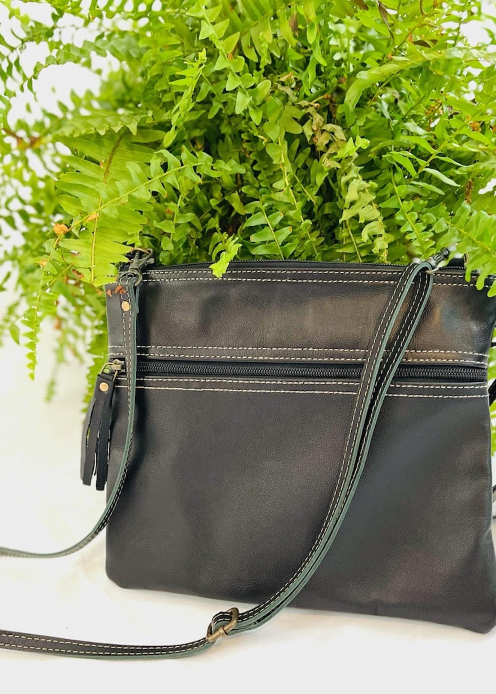 Black Beauty Leather Bag