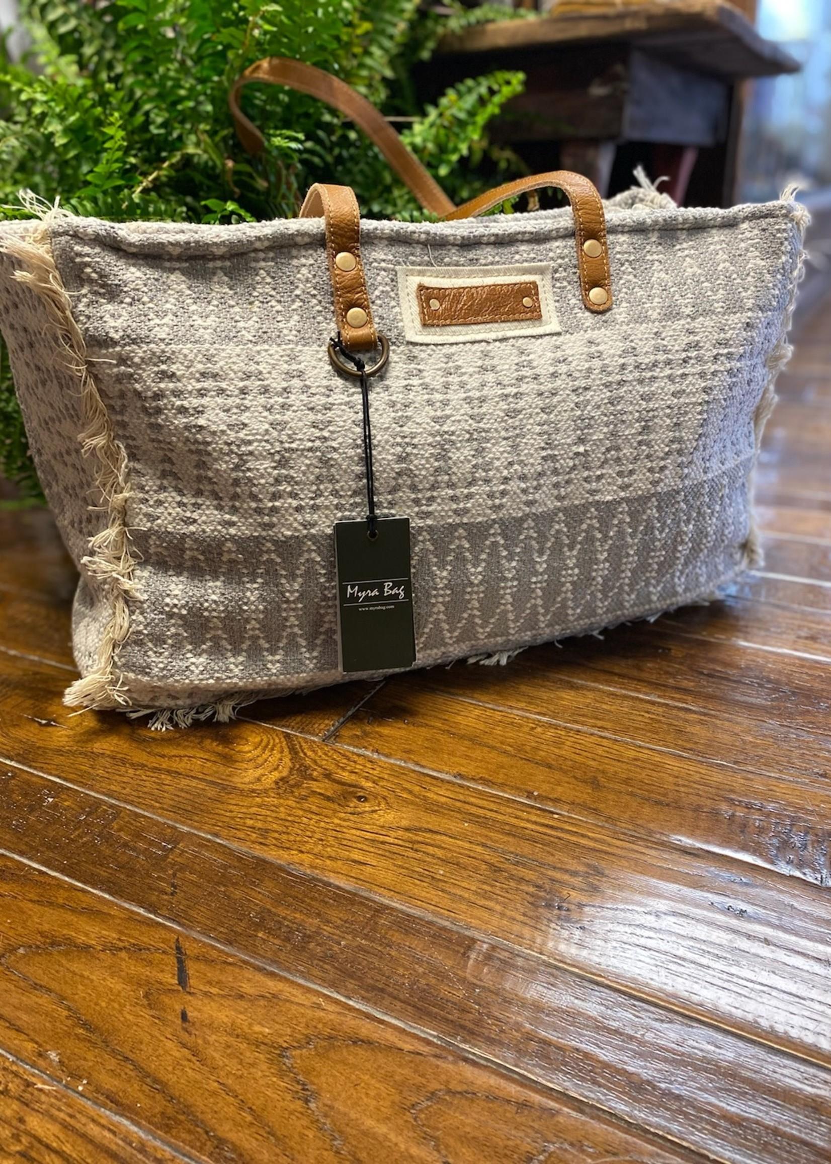 Snowy Weekender Bag