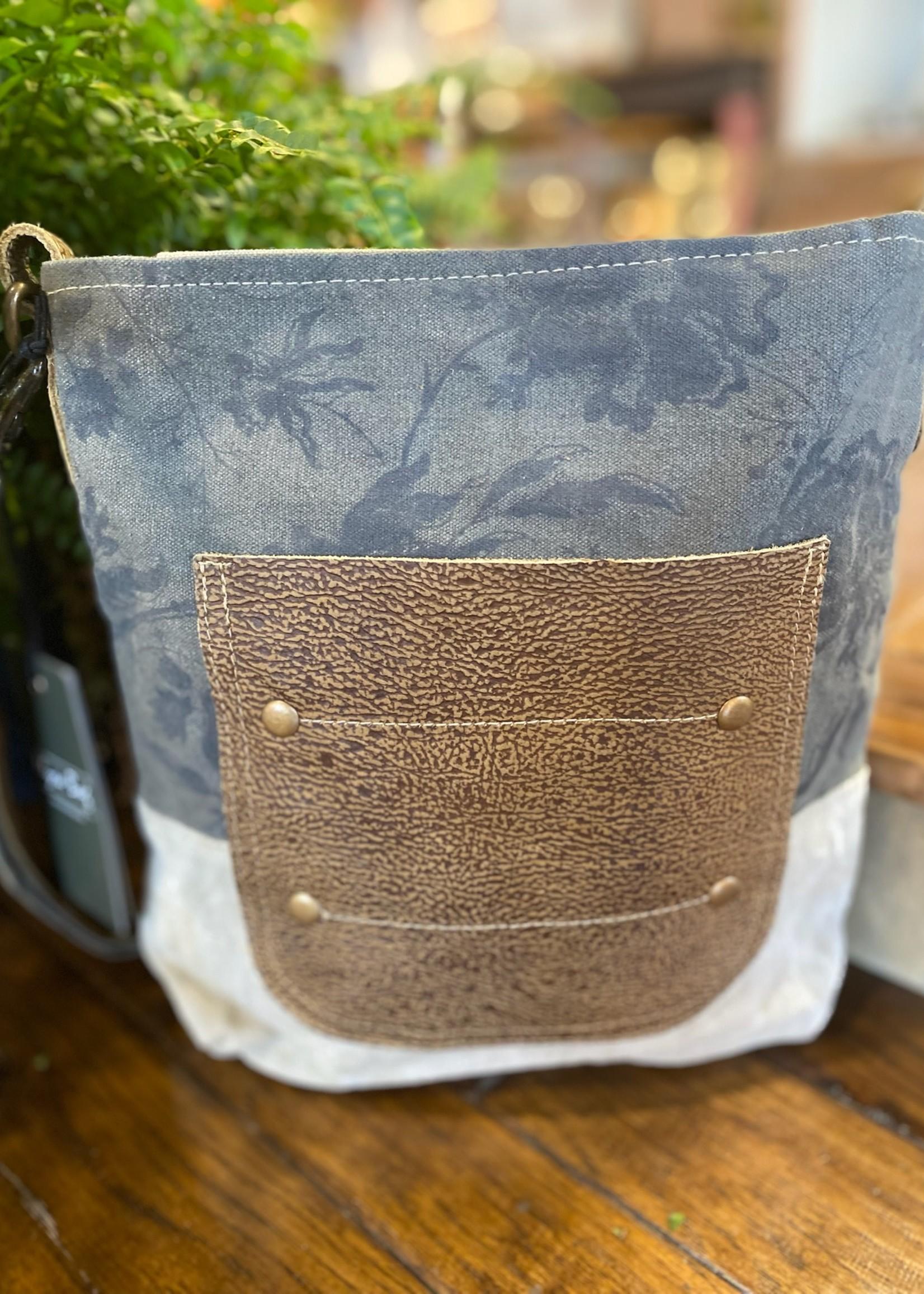 Leather Pocket Shoulder Bag