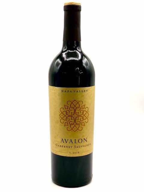Napa Valley Cabernet Sauvignon 2018 Avalon 750ml