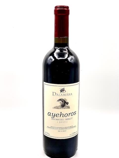 """Imathia Greece Red 2015 Dalamara Winery """"Ayehoros""""   750ml"""