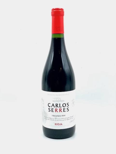 Rioja Alta Crianza 2016 Bodegas Carlos Serres 750ml