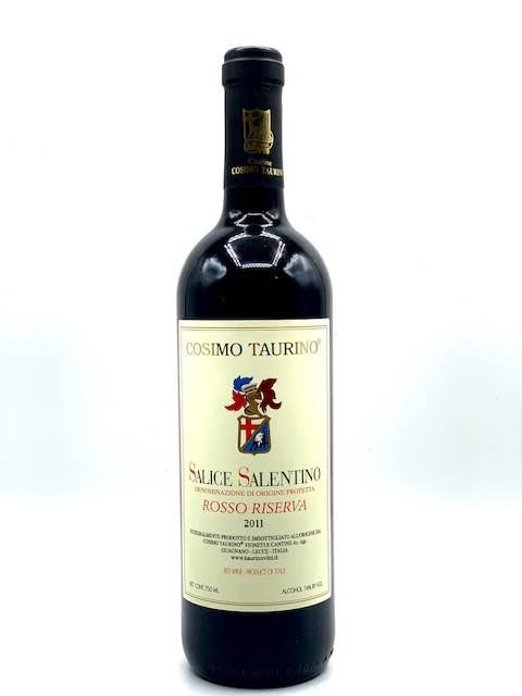 """Salice Salentino Rosso 2011 Cosimo Taurino """"Riserva""""  750ml"""