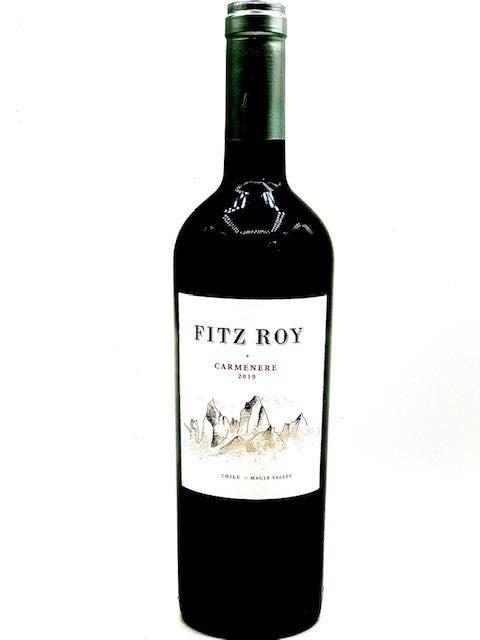 "Chilean Carmenere 2019 Fitz Roy ""Colchagua Valley"" 750ml"