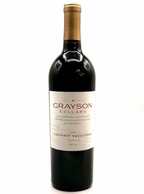 "California Cabernet Sauvignon 2019 Grayson Cellars ""Lot 10"" 750ml"