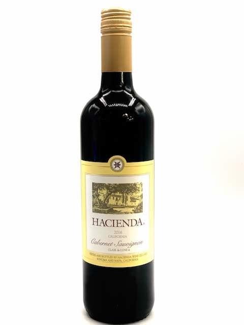 California Cabernet Sauvignon 2016 Hacienda Wine Cellars 750ml