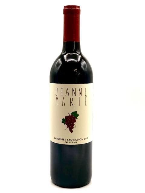 California Cabernet Sauvignon 2020 Jeanne Marie Winery  750ml