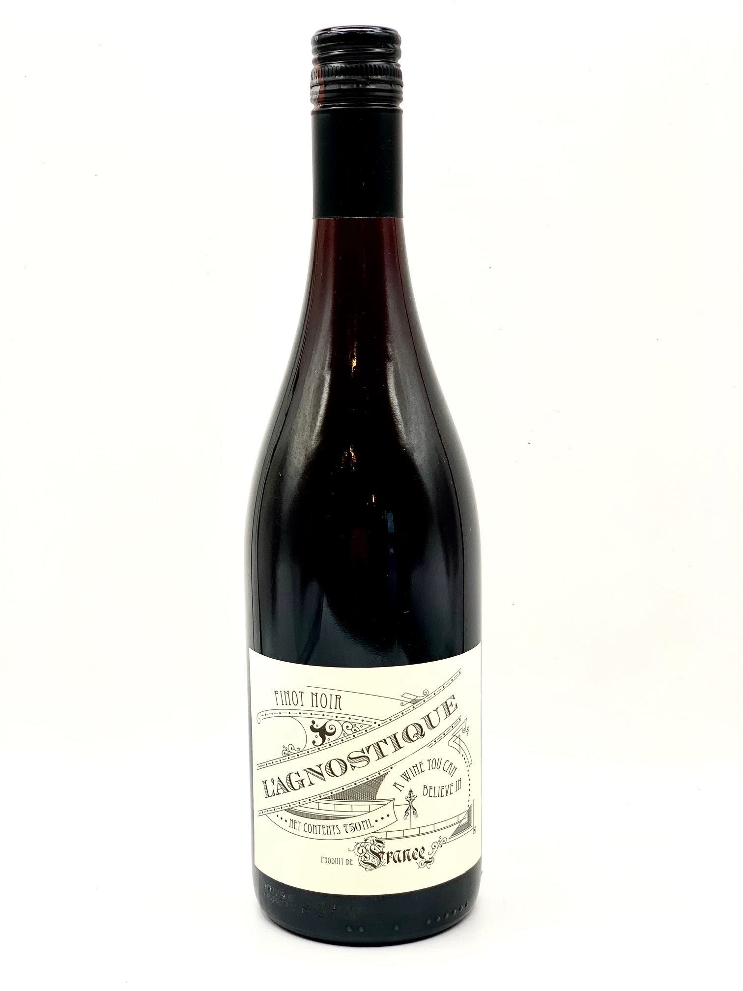 Vin de France Pinot Noir 2018 L'Agnostique 750ml