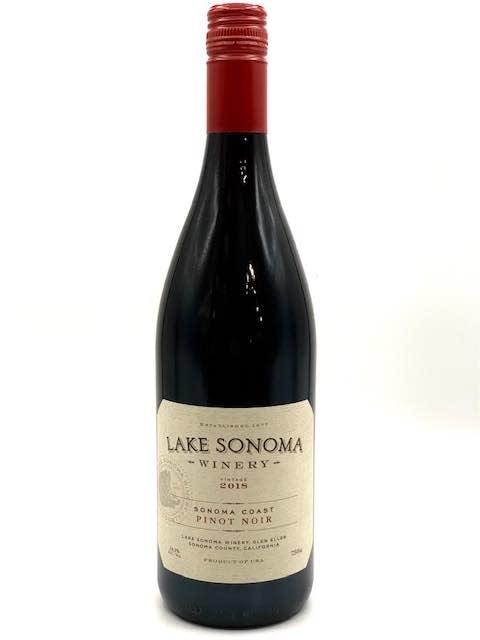 Sonoma Coast Pinot Noir 2018 Lake Sonoma Winery 750ml