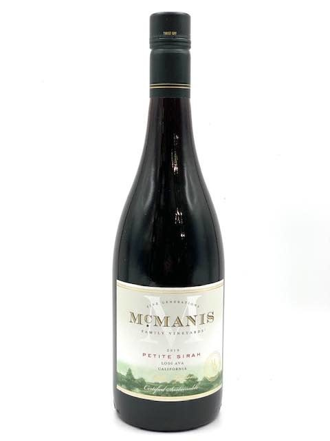 California Petite Sirah 2018  McManis Family Vineyards 750ml