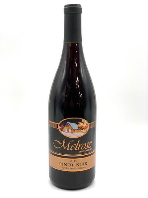 Oregon Umpqua Pinot Noir 2015 Melrose Estate 750ml