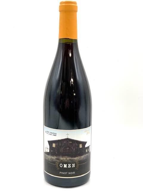 "Rogue Valley Pinot Noir 2018 Atlas Wine ""Omen""  750ml"