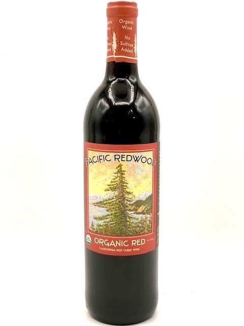 California Organic Red NV Pacific Redwood 750ml