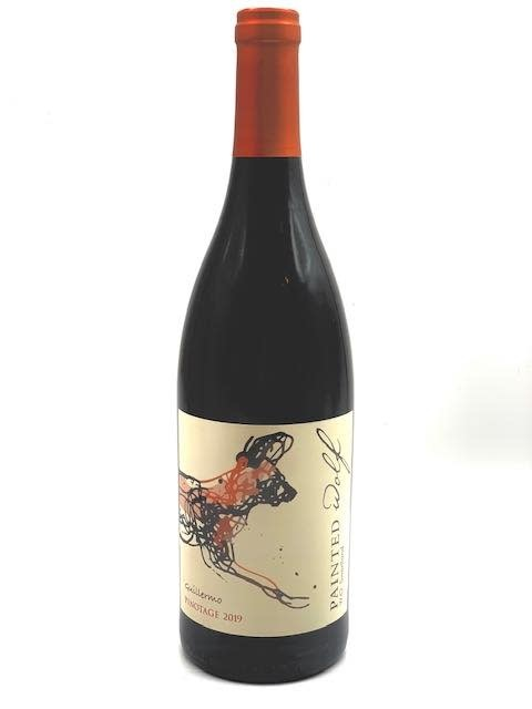 """Swartland Pinotage 2018 Painted Wolf """"Guillermo"""". 750ml"""