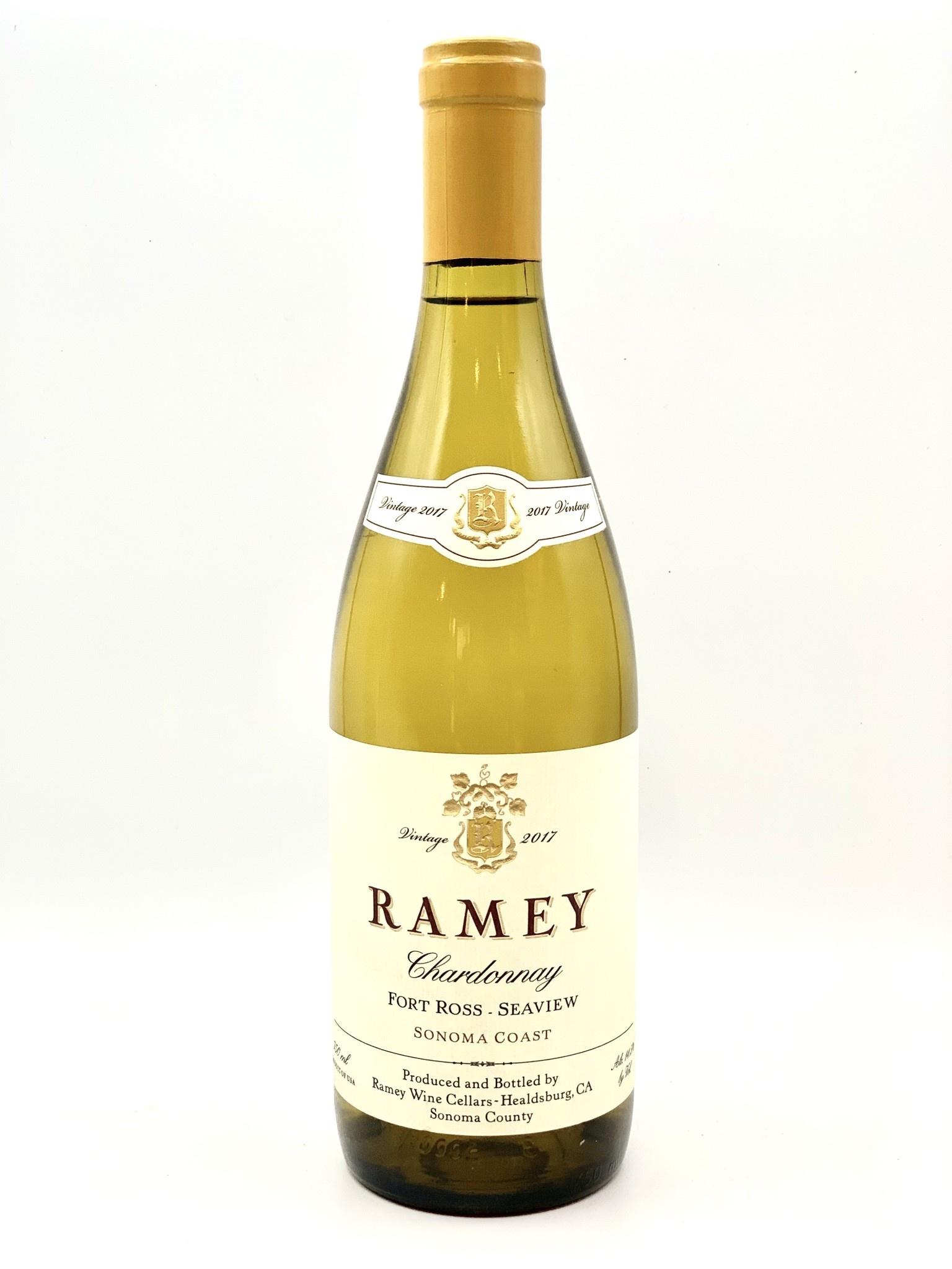 Sonoma Coast Chardonnay 2017 Ramey Wine Cellars 750ml