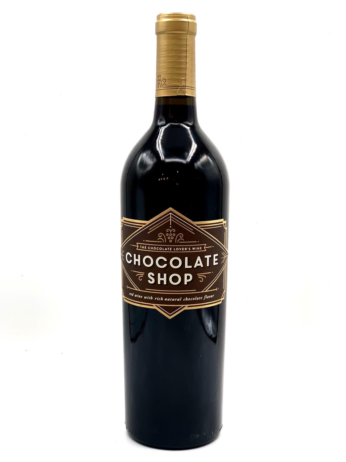 Columbia Valley Dark Chocolate Infused Red Wine NV Chocolate Shop 750ml