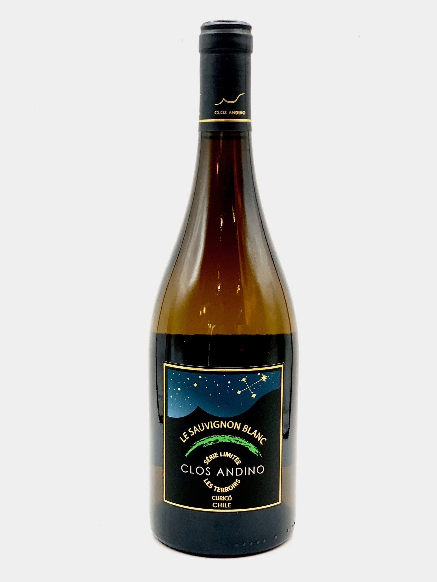 "Curico Valley Sauvignon Blanc 2019 Clos Andino ""Les Terroirs"" 750ml"