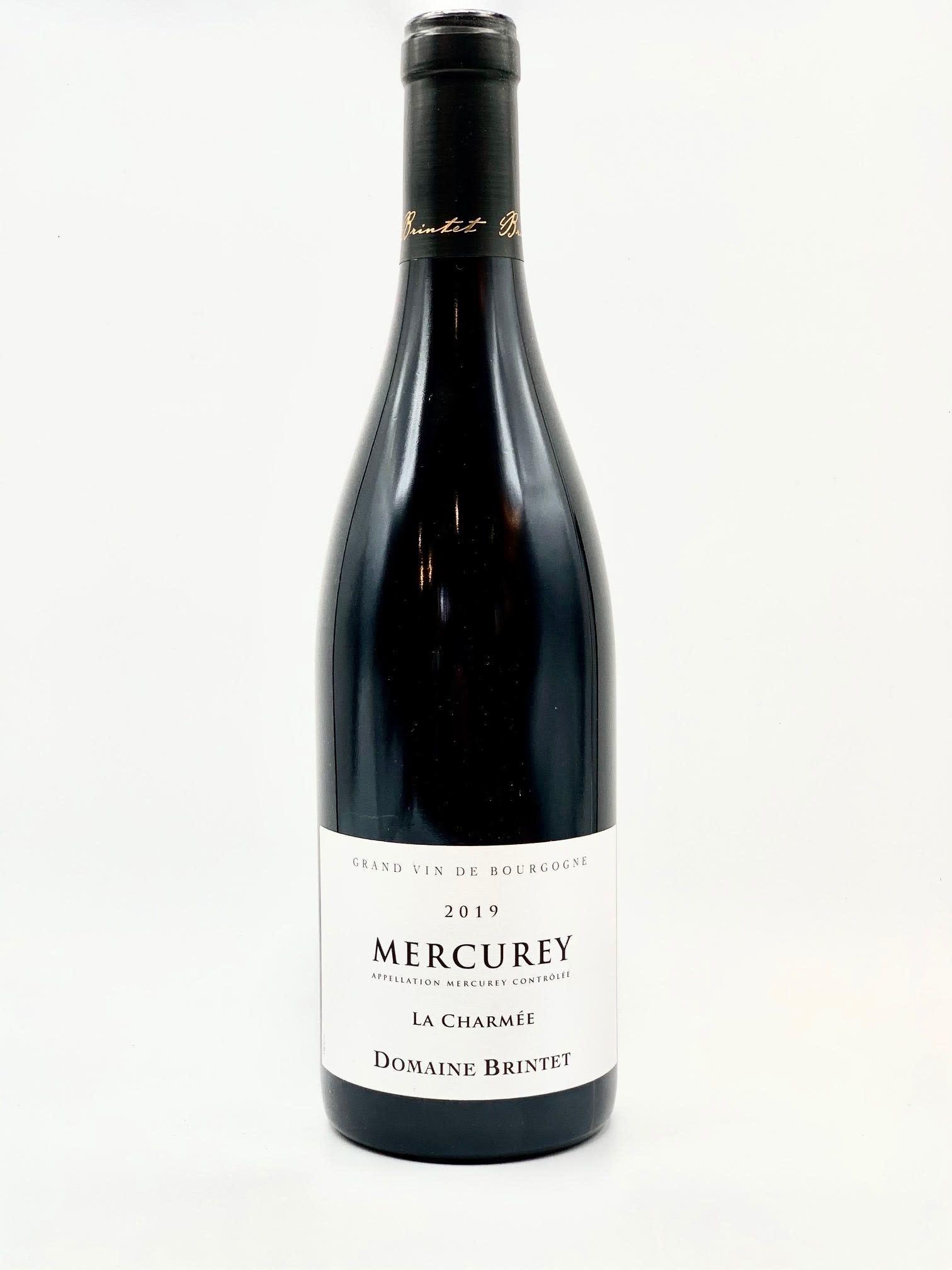 """Mercurey """"La Charmee"""" 2019 Domaine Brintet  750ml"""