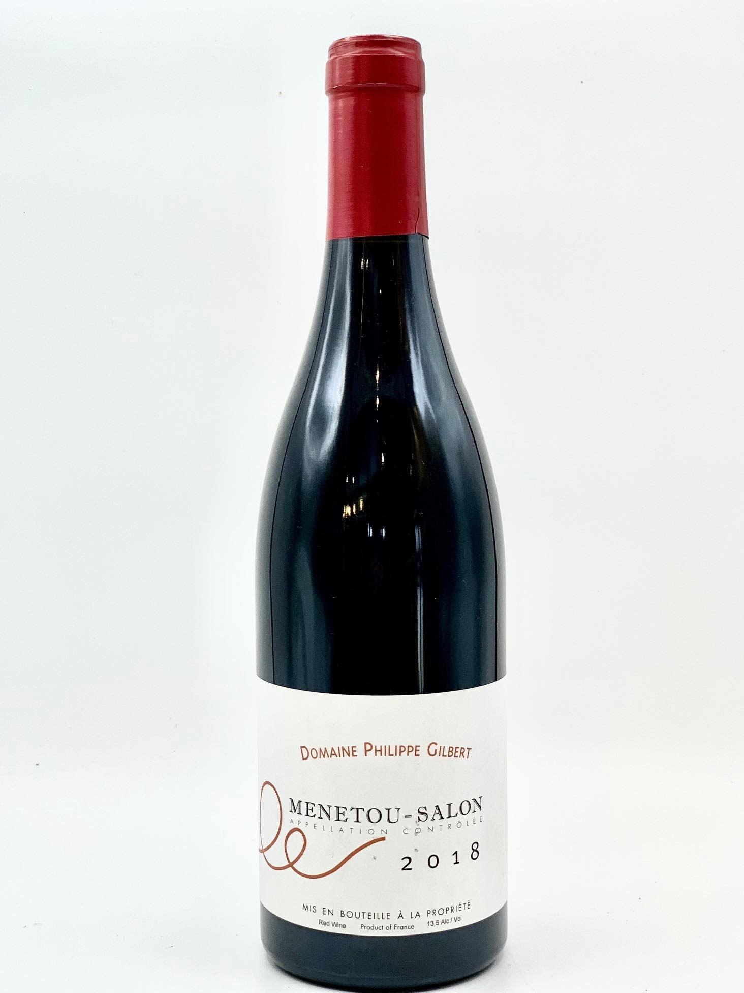 Menetou Salon Rouge 2018 Domaine Philippe Gilbert  750ml