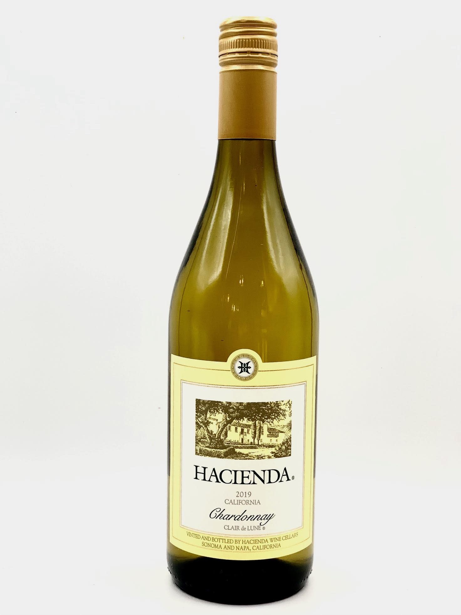 California Chardonnay 2019 Hacienda Wine Cellars 750ml
