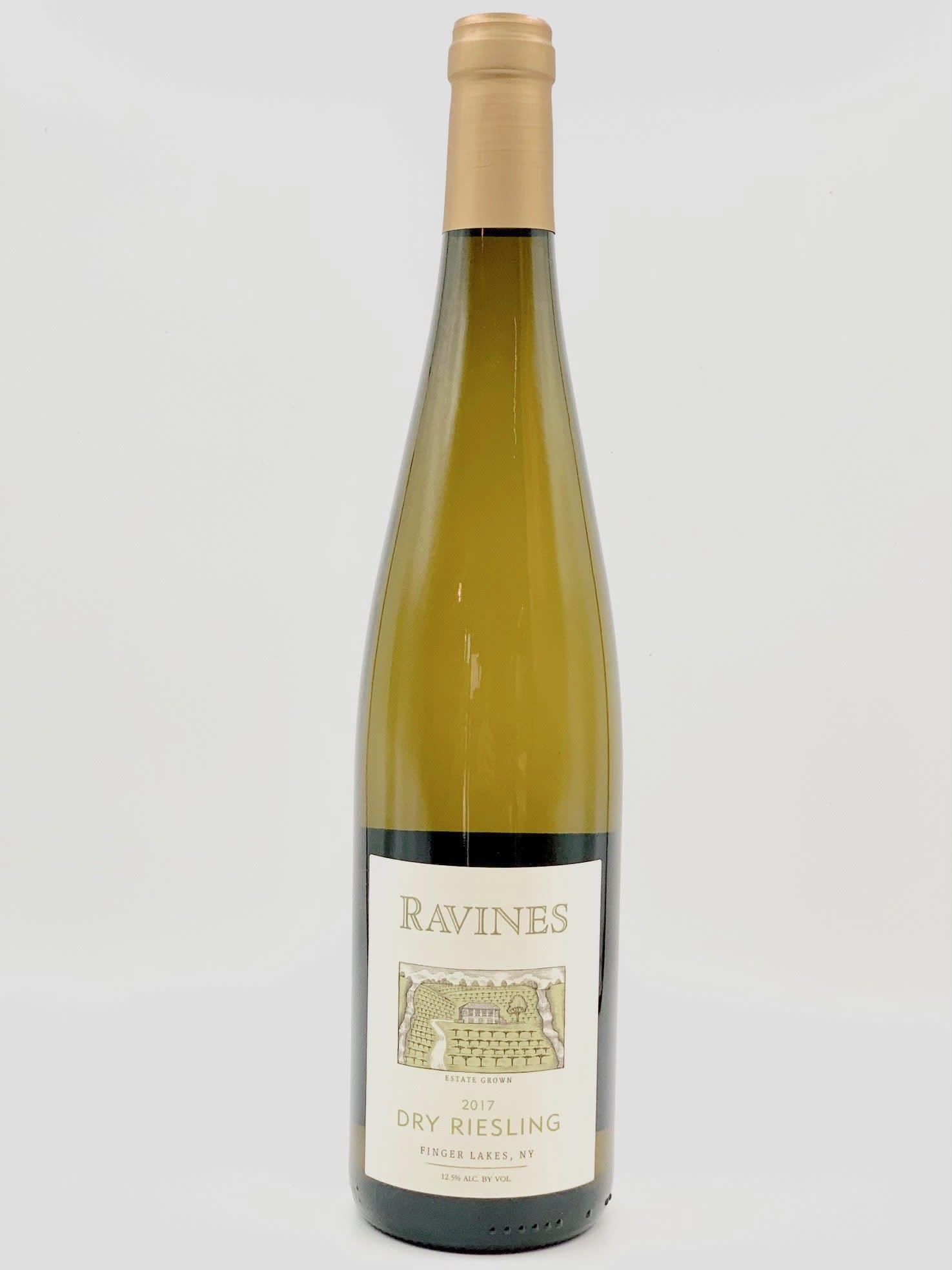 Finger Lakes Dry Riesling 2018 Ravines Wine Cellars