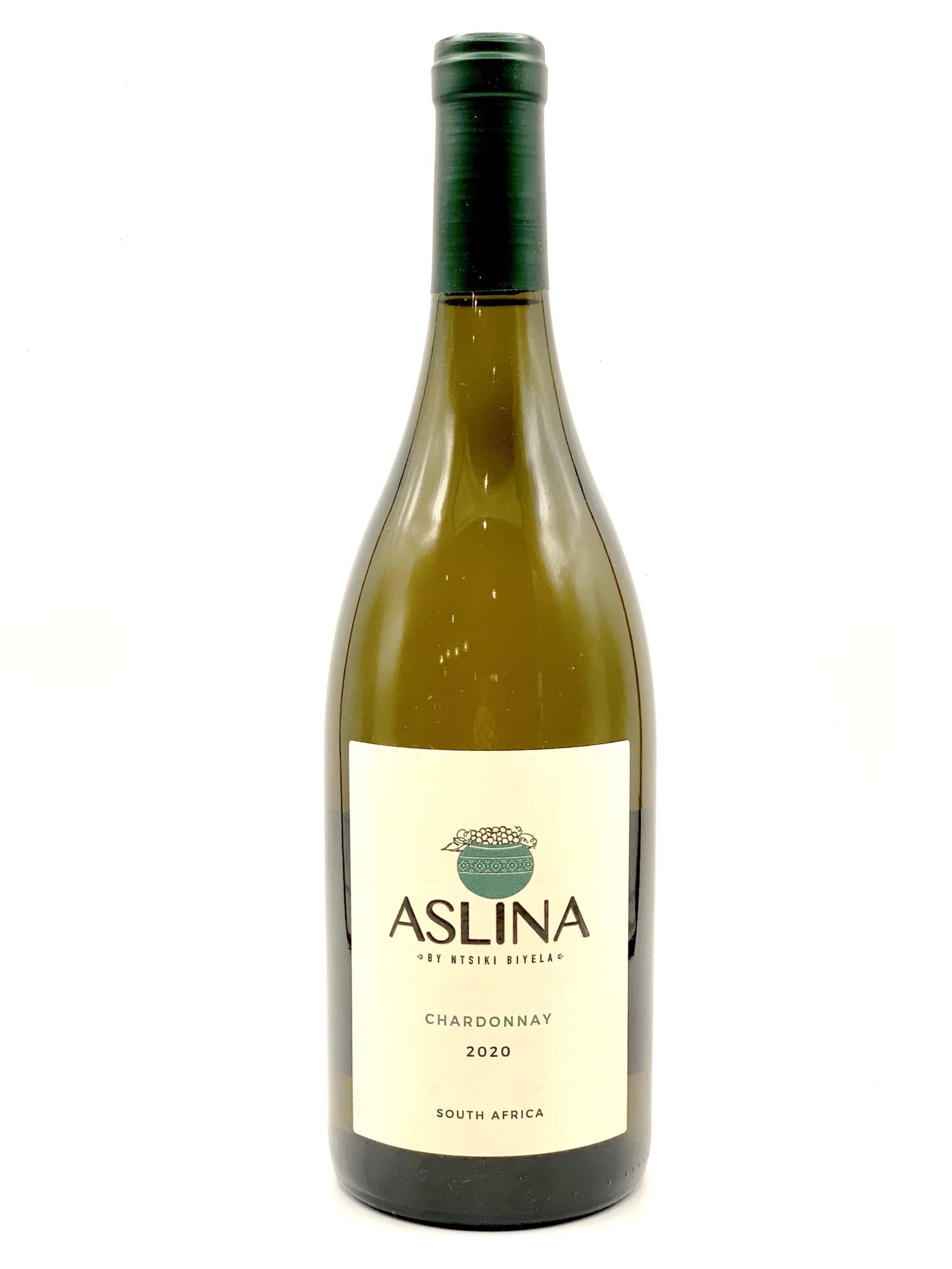 South African Chardonnay 2020 Aslina by Ntsiki Biyela  750ml