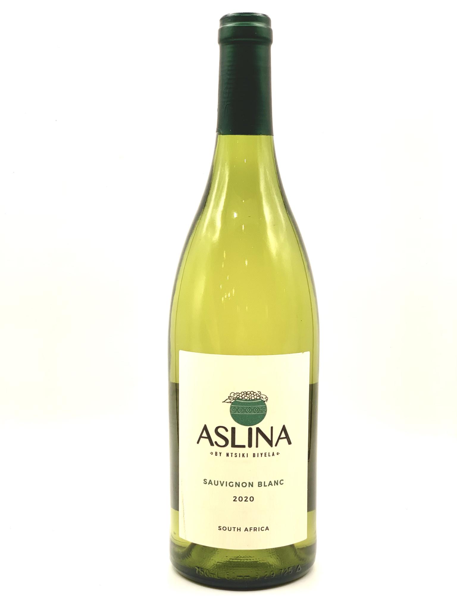 South African Sauvignon Blanc 2020 Aslina by Ntsiki Biyela  750ml