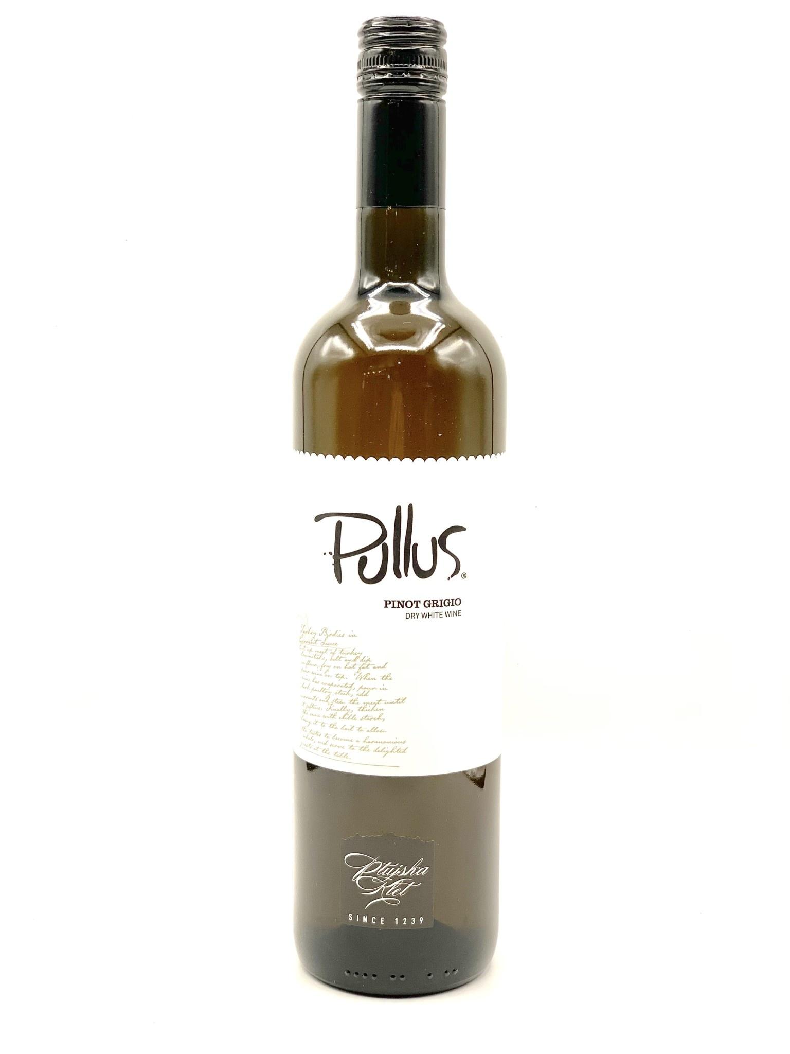 "Slovenia Pinot Grigio 2019/20 Ptujsk Klet ""Pullus"" 750ml"